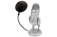 Blue Microphones Yeti + Pop Filter