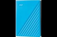 Жесткие диски, SSD WD My Passport 4TB Portable External Hard Drive Blue (WDBPKJ0040BBL-WESN)