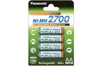 Аккумуляторы Panasonic High Capacity AA 2700 mAh 4BP Ni-MH (BK-3HGAE/4BE)