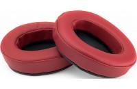 Brainwavz Headphone Memory Foam Earpads Oval PU Leather Dark Red