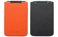 Аксессуары для электронных книг Обложка PocketBook Flip для PB624, оранжевый/черный (PBPUC-624-ORBC-RD)