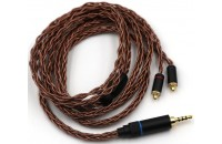 Наушники Penon OCC Braided Audiophile IEM cable (MMCX to 2.5mm Balanced)