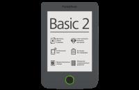 Электронные книги PocketBook Basic 2 (614) Grey