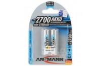 Аккумуляторы Ansmann AA 2 X 2700 mAh