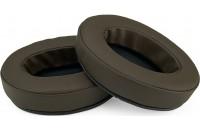 Brainwavz Headphone Memory Foam Earpads Oval PU Leather Brown
