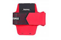 Аксессуары для мобильных телефонов Remax Running Sports Arm Band Black/Red