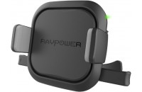 Кабели и зарядные уст-ва RavPower Air Vent Car Mount Wireless Black (RP-SH008)