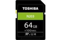 Карты памяти и кардридеры Toshiba SD-Card 64GB N203 UHS-I U1 (THN-N203N0640E4)