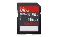Карты памяти и кардридеры SanDisk 16GB SDHC Ultra UHS-I Class 10