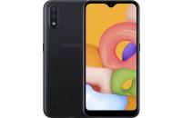 Мобильные телефоны Samsung Galaxy A01 2/16GB Dual Sim Black (SM-A015FZKDSEK)