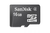 Карты памяти и кардридеры SanDisk 16GB MicroSDHC