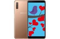 Мобильные телефоны Samsung Galaxy A7 (2018) 4/64GB Dual Sim Gold (SM-A750FZDUSEK)