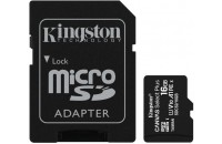 Kingston microSDHC 16GB UHS-I Canvas Select Plus + SD Adapter (SDCS2/16GB)