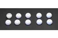 Аксессуары для наушников Амбушюры Sennheiser CX200/300/400 ММ30/70/80 (528172) 1пара) L white