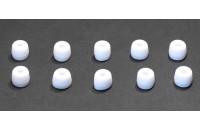 Аксессуары для наушников Амбушюры Sennheiser CX200/300/400 ММ30/70/80 (528170) 1пара) S white
