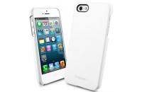 Аксессуары для мобильных телефонов SGP iPhone 5/5S Case Genuine Leather Grip Series White (SGP09602)