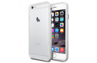 SGP iPhone 6/6S Case Neo Hybrid EX Series Satin Silver (SGP11026)