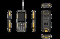 Мобильные телефоны Sigma mobile X-treme DZ67 Travel (Black Yellow)