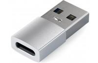 Аксессуары для компьютерной техники Satechi Type-A to Type-C Adapter Silver (ST-TAUCS)