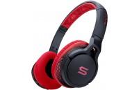 Soul Transform Wireless Over-Ear Sports Bluetooth Headphones Red