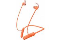 Наушники Sony WI-SP510 Orange