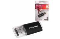 USB Flash накопители Silicon Power 8 GB Ultima II I-series Black SP08GBUF2M01V1K