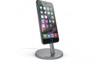 Кабели и зарядные уст-ва Satechi Aluminum Desktop Charging Stand Space Gray for iPhone (ST-AIPDM)
