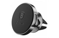 Аксессуары для мобильных телефонов Baseus Small Ears Series Magnetic Car Air Vent Mount Black (SUER-A01)