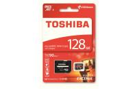 Аудиоплееры Toshiba microSDXC 128GB Cass 10 UHS-I Exceria M302 + SD Adapter (THN-M302R1280EA)