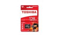 Карты памяти и кардридеры Toshiba microSDXC 128GB Class 10 UHS-I Exceria M301 + SD Adapter(THN-M301R1280EA)