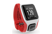 Фитнес -трекеры TomTom Multi-Sport Cardio GPS Watch (White/Red)