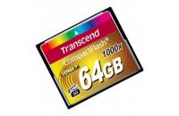 Карты памяти и кардридеры Transcend 64Gb CF (1000x)