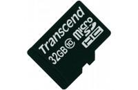 Карты памяти и кардридеры Transcend microSDHC 32GB Class 10 (TS32GUSDC10)