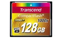 Карты памяти и кардридеры Transcend 128Gb CF (1000x)
