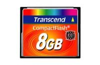 Карты памяти и кардридеры Transcend 8Gb CF (133x)