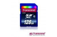 Карты памяти и кардридеры Transcend 128 GB SDXC class 10 TS128GSDXC10