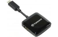 Карты памяти и кардридеры Transcend TS-RDC2K black