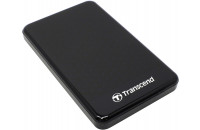 Жесткие диски, SSD 1 TB Transcend StoreJet 25A3 1TB TS1TSJ25A3K USB 3.0 Anti-Shock