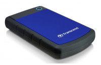 Жесткие диски, SSD 2 TB Transcend StoreJet 25H3B TS2TSJ25H3B USB 3.0 Anti-Shock
