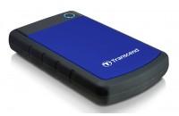 Жесткие диски, SSD 1 TB Transcend TS1TSJ25H3B StoreJet 25 SATA USB 3.0 Anti-Shock
