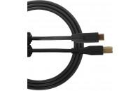 UDG Ultimate Audio Cable USB 2.0 C-B Black Straight 1.5m