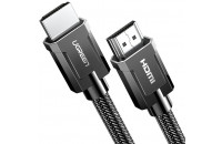 Кабели аудио-видео UGREEN HD135 HDMI 2.1 (AM/AM) 8K Round Cable with Braided 2 m Gray