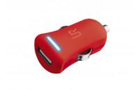 Кабели, зарядные уст-ва, аккумуляторы Urban Revolt Smart Car Charger Red (20153)
