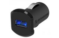 Кабели, зарядные уст-ва, аккумуляторы Scosche reVOLT USB Car Charger 10W (2.4A) Black (USBC121M)