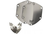 Аксессуары для наушников V-MODA Crossfade Over-Ear Headphone Metal Shield Kit (Chrome)