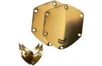 Аксессуары для наушников V-MODA Crossfade Over-Ear Headphone Metal Shield Kit (Gold)