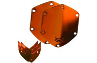 Аксессуары для наушников V-MODA Crossfade Over-Ear Headphone Metal Shield Kit (Sun Orange)