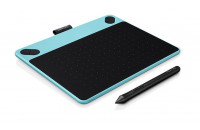 Графические планшеты Wacom CTL-490DB-N Intuos Draw Blue Pen S