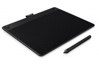 Графические планшеты Wacom CTH-690TK-N Intuos 3D Black PT M