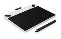 Графические планшеты Wacom CTL-490DW-N Intuos Draw White Pen S